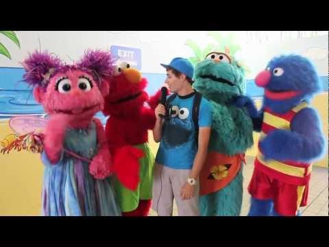 Character Chat: SeaWorld (Sesame Street)