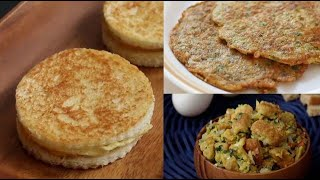 3 breakfast recipes