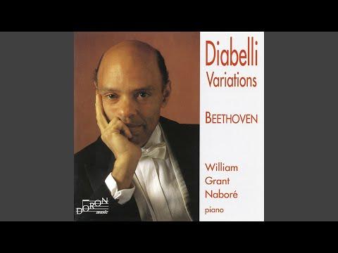 Diabelli Variations in C Major, Op. 120: No. 1, Alla marcia maestoso