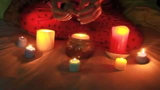 ASMR Candle And Smoke Healing (soft whispering)