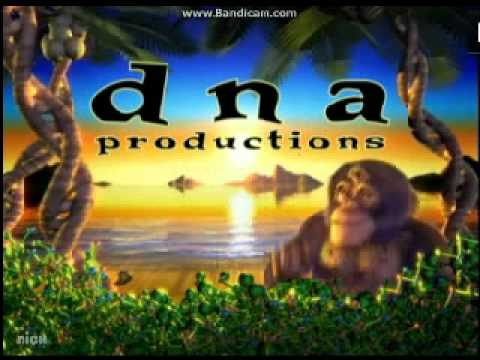 O Entertainment/DNA Productions/A Frederator Incorporated Production/Nicktoons Logos