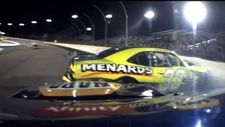Elliott, Brandon Jones crash off Turn 4