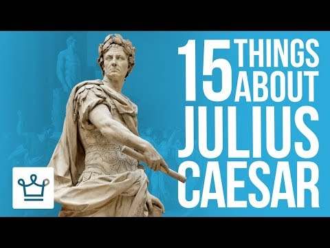 15 Things You Didnt Know About Julius Caesar