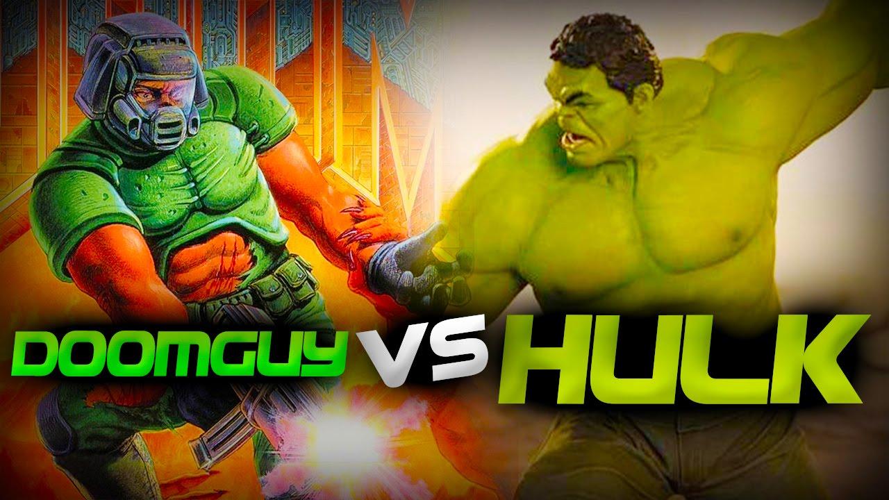 Doomguy Vs Hulk - Epic Battle - Left 4 dead 2 Gameplay (Left 4 dead 2  Custom Skin mods)