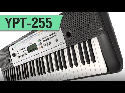 teclado yamaha ypt 255 youtube. Black Bedroom Furniture Sets. Home Design Ideas