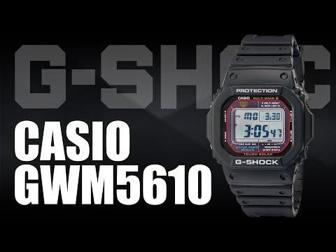 Casio G-Shock GWM5610 Solar Multiband 6 Atomic Timekeeping Watch Review