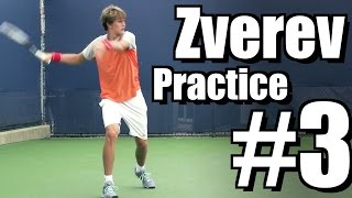 Alexander Zverev | Forehand and Backhand #3 | Western & Southern Open 2014