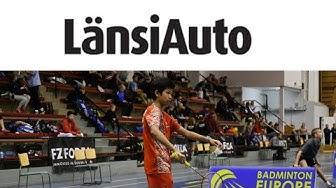 Court 13, Sat 26 Oct, Part 2, LänsiAuto / Finnish Junior & Youth 2019 Badminton