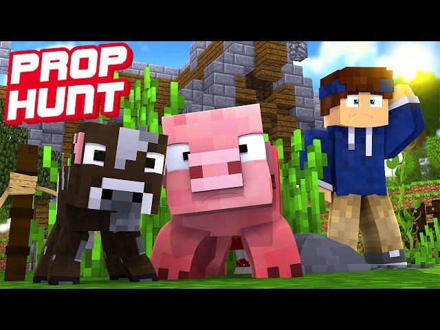 WERDE ICH SIE FINDEN? | Minecraft Prop Hunt