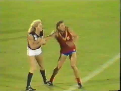 1988 State Game South Australia Vs Victoria at Football park  From 17 minute mark of 1st quarter to