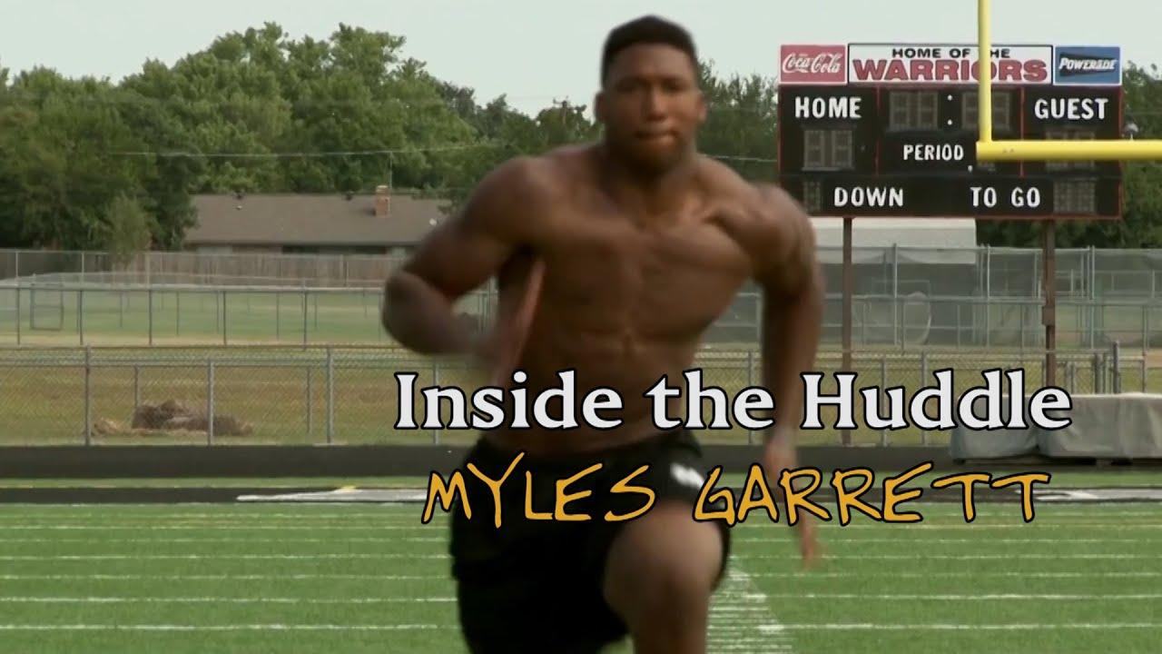 Inside the Huddle   Myles Garrett