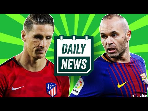 TRANSFER NEWS: Torres & Iniesta To MLS + Trouble For Arda Turan ►  Daily Football News