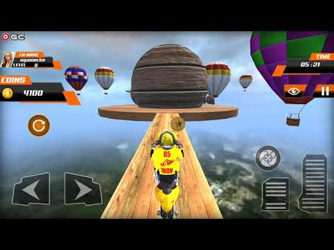 Real Stunt Bike Pro Tricks Master Racing Game 3D - Android Gameplay FHD #2