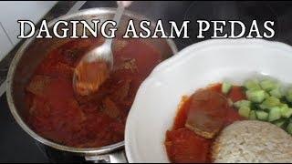 Asam Pedas Daging - Dagiang Asam Padeh - Sour & Spicy Beef II Cook Like Kayka