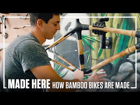 How Bamboo Bikes Are Made | MADE HERE | Popular Mechanics