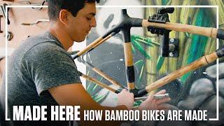 How Bamboo Bikes Are Made Made Here Popular Mechanics Youtube