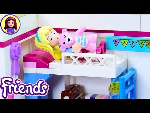 Lego Friends Little Stephanie's Toddler Bedroom - Custom Girl's Room Renovation DIY Craft