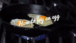 How to fry an egg in 5 simple steps