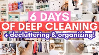 EXTREME DEEP CLEANING MARATHON | 2021 Spring Cleaning Motivation | Satisfying Speed Cleaning