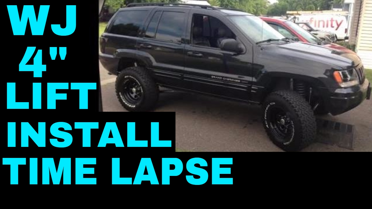 Jeep Grand Cherokee Wj Rough Country 4 Inch Long Arm Lift Kit