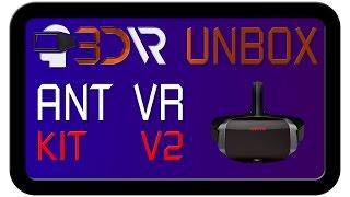 Розпакування шолома віртуальної реальності AntVR kit 2 | 3D-VR: все про віртуальної реальності