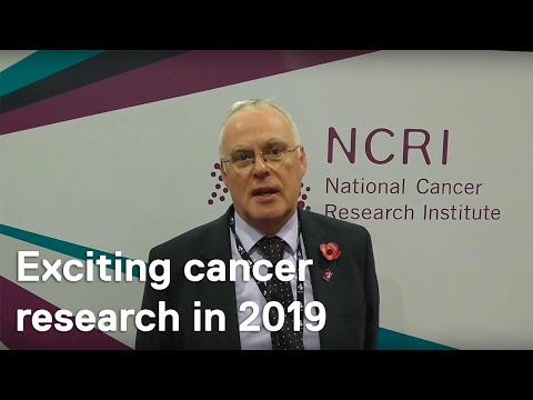 NCRI 2018: Dr Iain Frame on exciting cancer research in 2019