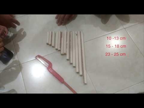 How to make a zampoña & xylophone - DIY