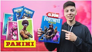 TREMENDO the Official Album of Fortnite 2019 SKINS in REAL life. Panini Argentina