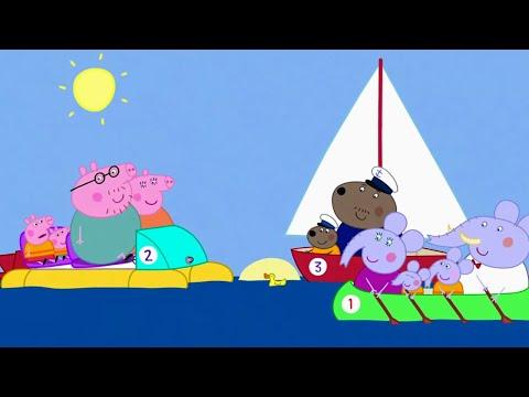 Peppa Pig English Episodes | Peppa Pig's Boat Ride | Peppa Pig # 190