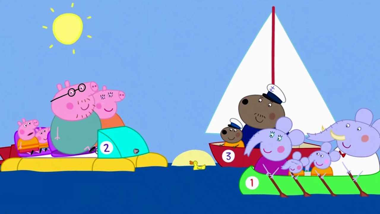 Peppa Pig Official Channel | Peppa Pig's Boat Ride