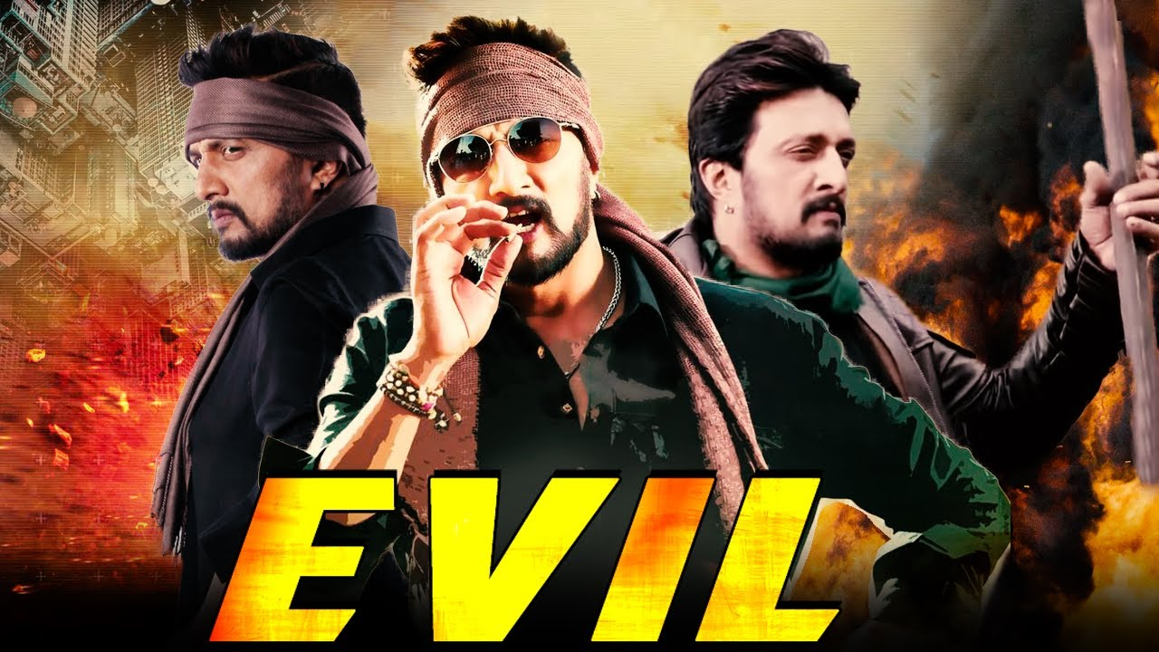 Download Evil Full South Indian Hindi Dubbed Movie   Sudeep Action Movies In Hindi Dubbed