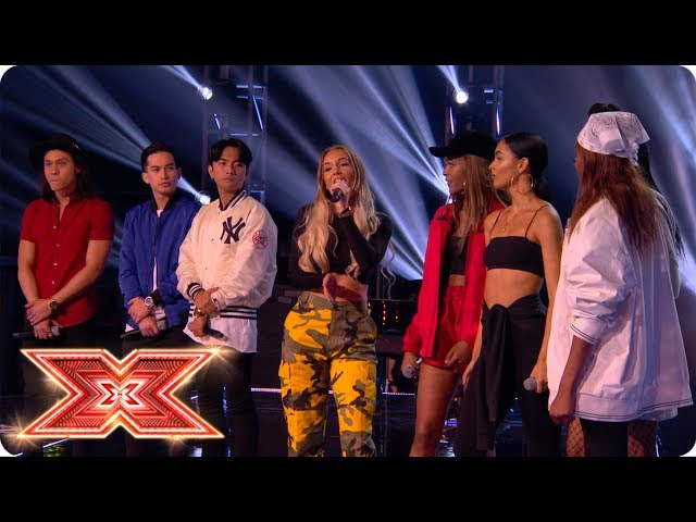 Simon calls for a sing-off between JBK and Lemonade!  | Six Chair Challenge | The X Factor 2017