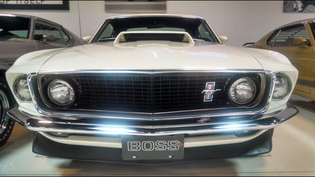 Dream Mustang Collection Boss 429 Boss 302 Boss 351