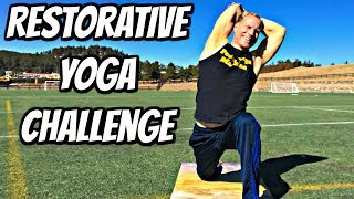 Energy Yoga Flow - Day 1 - Restorative Yoga Challenge