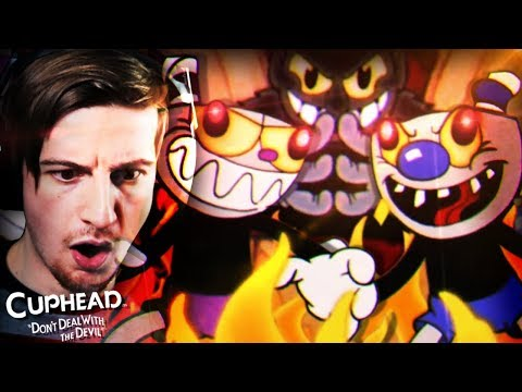 A WHOLE NEW LEVEL OF DIFFICULT. (RAGE) || Cuphead (PACIFIST ROUTE + BAD ENDING)