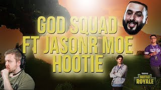 God Squad FT JasonR, Moe, & Hootie (Fortnite Battle Royale)(2500 Vbucks Giveaway) - SwaggerLeeTV