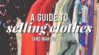 How to (Strategically) Sell Clothes + Make $$$   Depop, Poshmark, Ebay, Resale Shops, Etc! screenshot 5