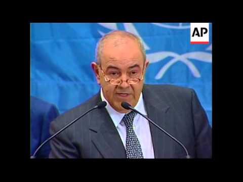 New Iraqi president named, cabinet presented, reax