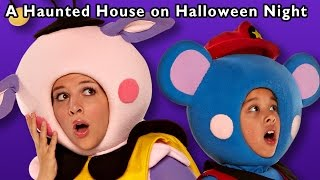 Repeat youtube video Halloween Fun | A Haunted House on Halloween Night and More | Baby Songs from Mother Goose Club!