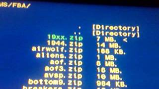 FBAnext MAME Emulator for PS3 Setup Tutorial [CFW 3 55