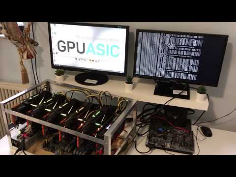 Ферма на видеокартах Gigabyte GTX 1080ti 11GB Grin 29