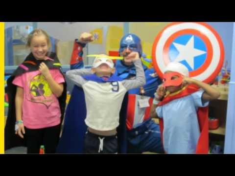 Superhero Day at Dayton Children's Hospital - YouTube
