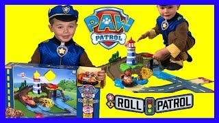 Paw Patrol Skye & Zuma's Lighthouse Rescue Track Set Toy Unboxing Fun Pretend Play for Kids