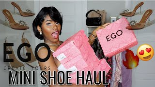 SHOE HAUL FT. EGOSHOES |SPRING…