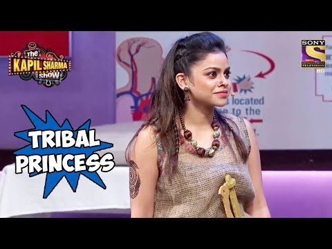 Tribal Princess Sarla Gulati - The Kapil Sharma Show