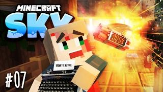 ANSCHLAG AUF MEINE ZEITUNG & UNSERE ERSTE SCHREIBMASCHINE ★ Minecraft: SKY - #07   HerrBergmann