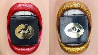 ✨ Super Satisfying Lipstick Swatches 😍 | Best Makeup Tutorials 2018 | Woah Beauty