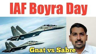 Boyra Day History | Gnat vs Sabre | Tamil | Siddhu Mohan