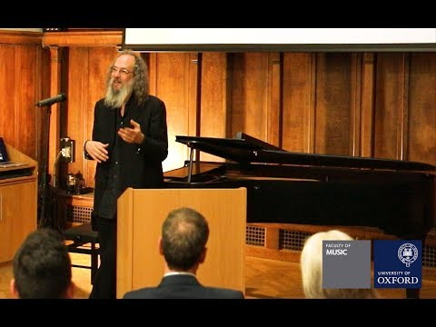 Andrew Scheps at the University of Oxford -