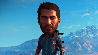 HILARIOUS BIG HEAD FUNNY MOMENTS! (Just Cause 3)